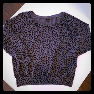 TORRID Leopard print sweater Sz 4